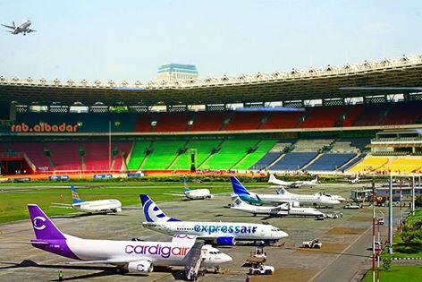 Lumayan ada airport baru di Jakarta by: https://www.facebook.com/rnb.albadar