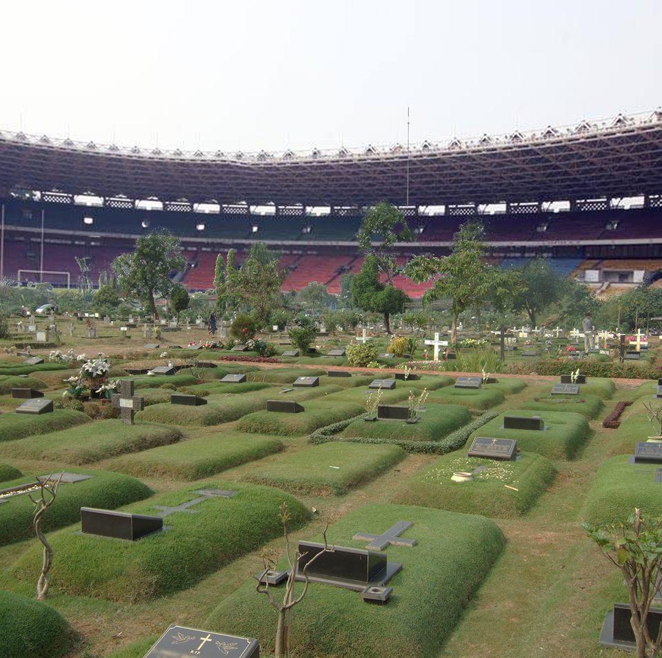 Sadis nih, gara-gara sepi akhirnya jadi tempat pemakaman by: https://www.facebook.com/andikamal